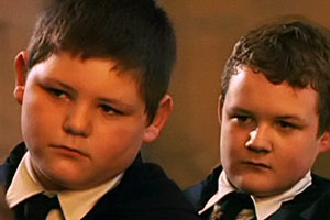 Crabbe and Goyle